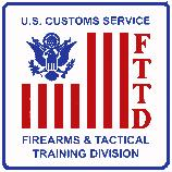 This Hand Painted Besheer Art Tile was commissioned as an award plaque by the U.S. Customs Service, to be given as an award for excellence in tactical training. The U.S. Customs Service has since been integrated into the U.S. Department of Homeland Security.